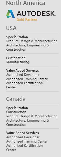 GRAITEC - USA - Canada - Autodesk Gold Partner