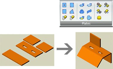 GRAITEC Autodesk Advance Steel | Sheet and plate metal work