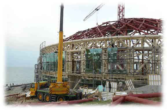 """Reconstruction of the """"Ancient Theatre"""" """"Eaglet"""" children's center"""