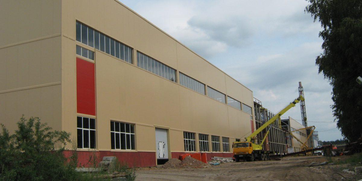 The Tikhvin Railway Car Building Plant