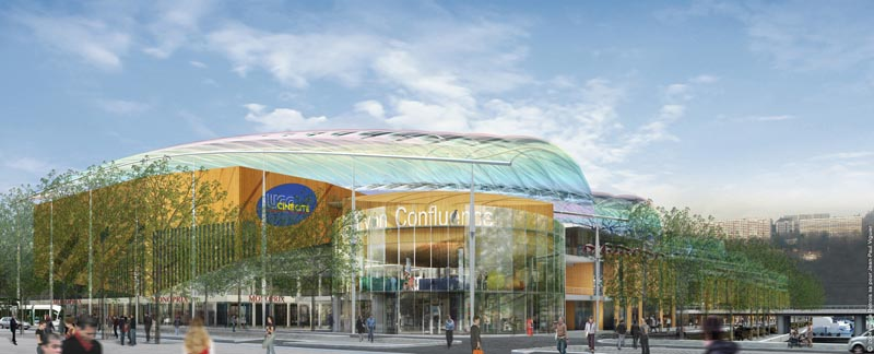 Lyon commercial & leisure center