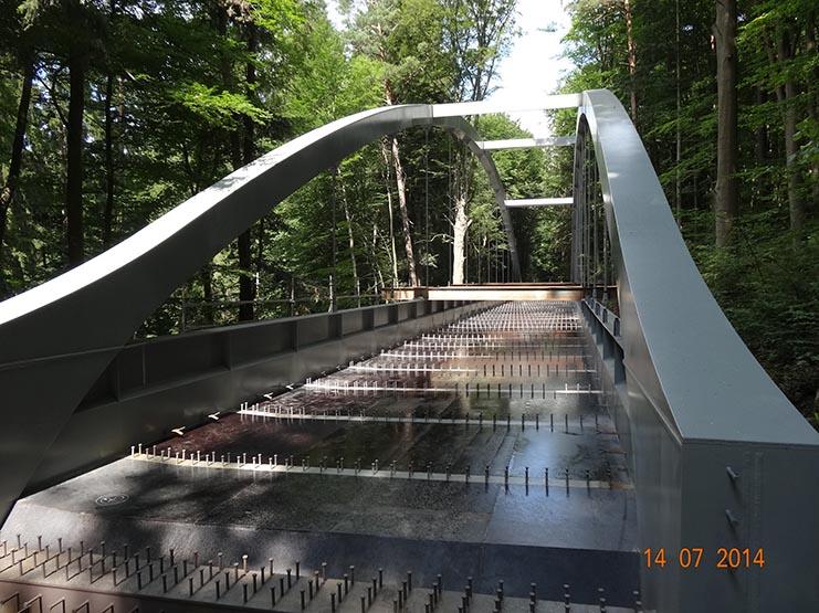 Bridge in the Moravina Karst near Holštejn