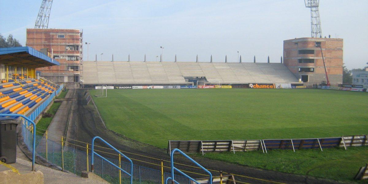 Restoration and building of soccer stadium in Jihlava