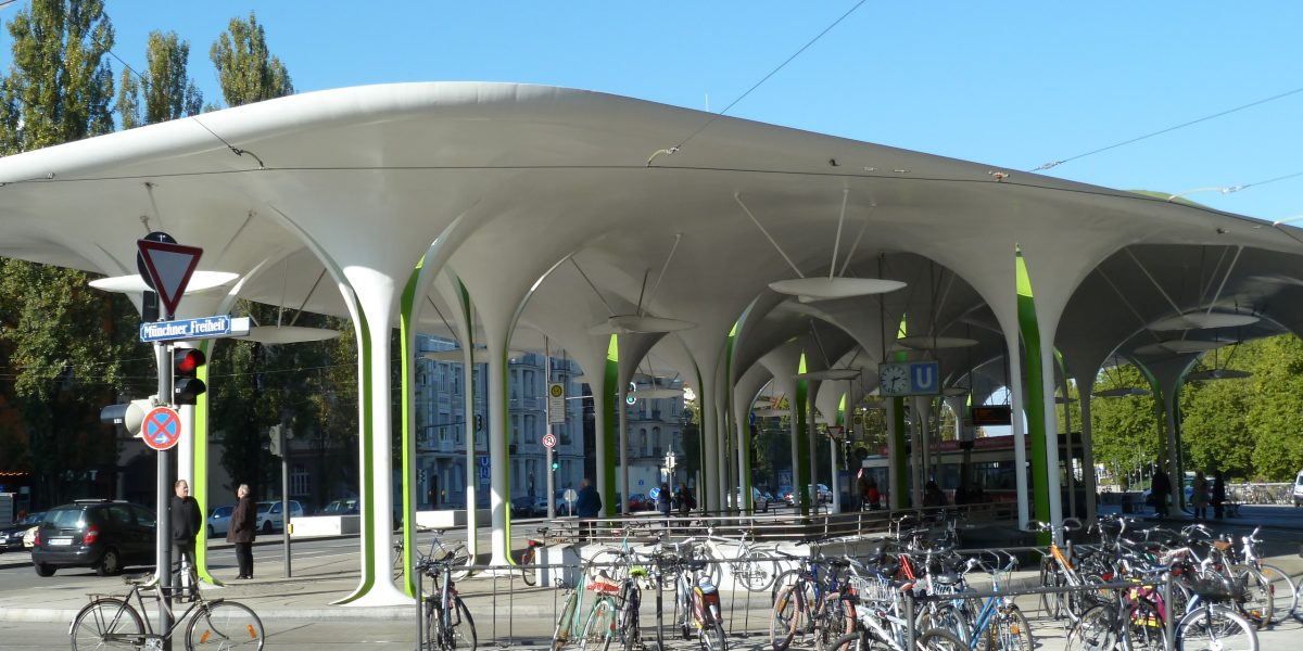 SUBWAY AND BUS STATION ROOF