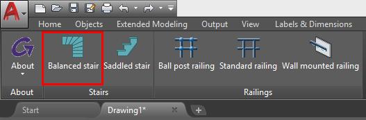 GRAITEC Advance BIM Designers | Balanced Stair